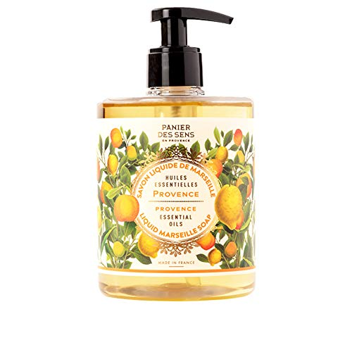 Panier des Sens Provence Liquid Marseille soap - Made in France 97% natural - 16.9floz/500ml