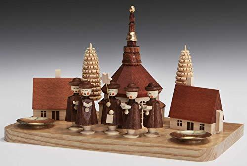 Kandelaar kroonluchter hoogte ca. 13 cm NIEUW kandelaar kandelaar kerken godtehuis ster zanger kerst zeep ertsgebergte