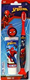 MR WHITE - Travel Kit Spiderman: Kit composto da spazzolino da denti manuale con ventosa e dentifricio 25ml