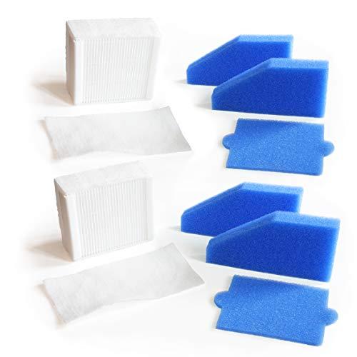 MI:KA:FI 2x Set de filtre | pour aspirateur Thomas Aqua+ | Pet & Family + Allergy & Family + Multi Clean X8 Parquet + Multi Clean X10 Parquet + Anti Allergy + Multi Clean X7 | comme 787241