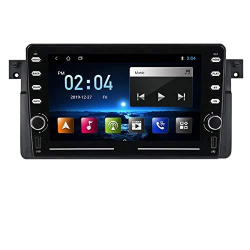Pantalla Android 10 pulgadas, adecuada para BMW E46 BMW 3 Series M3 Modified Central Control Central Control de navegación, Audio de radio estéreo, DSP integrado,M150b 2 + 32g