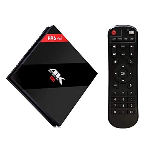 H96 Pro Plus Android 7.1 TV Box Amlogic S912 Octa-Core Cortex-A53 64 bits CPU,2GB+16GB Dual WiFi 2.4/5.0 GHz Bluetooth 4.1 H.265 4K Ultra HD 3D Smart TV Box