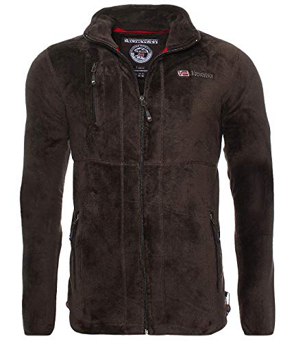 Geographical Norway G-Hunter Flecee Jacke - Brown - S