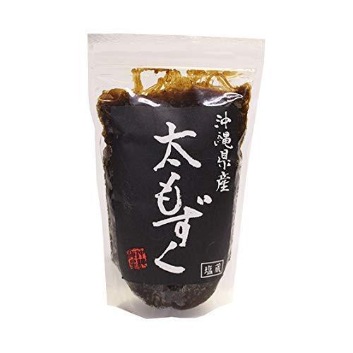沖縄県産 太もずく (塩蔵) 500g (沖縄県産太もずく500g(3袋))