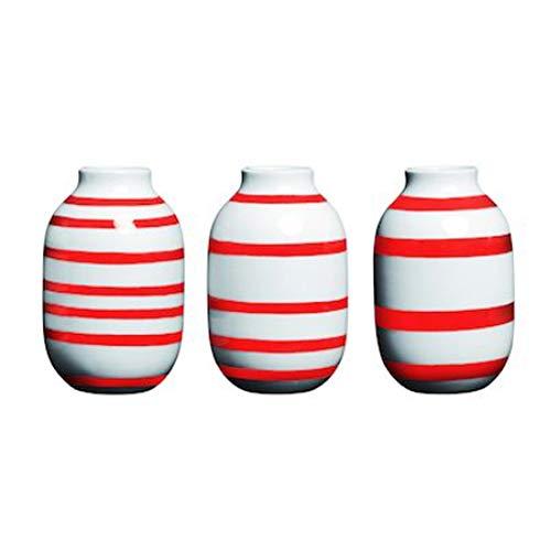 Kähler 691803 Omaggio Vase Mini 3er Set