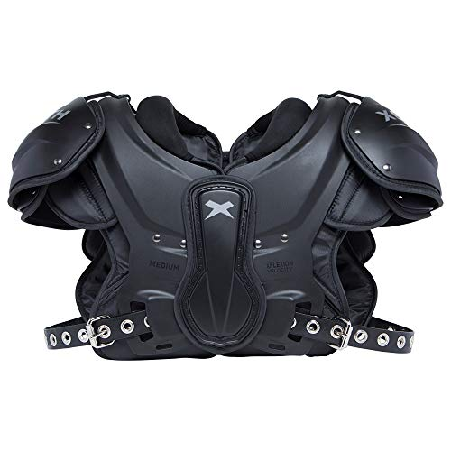 Xenith Velocity Varsity Football Shoulder Pads for Adults - All Purpose Protective Gear (X-Large)