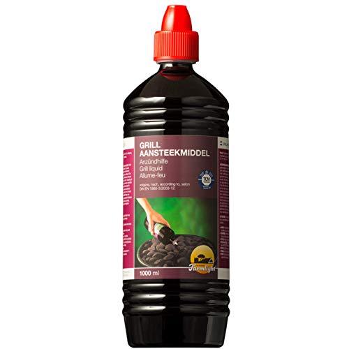 FARMLIGHT Accendifuoco Liquido x Barbecue e camini 1 Bottiglia da 1 litro, purple