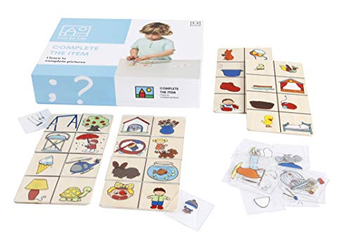 Toys for Lifevervollständige den GegenstandLehrmaterialien Lesen & SchreibenSpracheAb 36 MonateBis 72 Monate farbskala