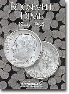Harris Coin Folder - Roosevelt Dimes 1 Folder 1946-1964 - 8HRS2684 by
