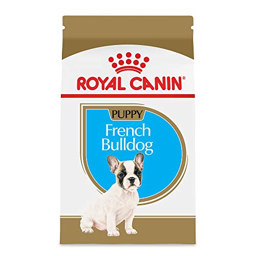 Royal Canin French Bulldog Puppy Breed Specific Dry Dog Food, 3 lb. bag