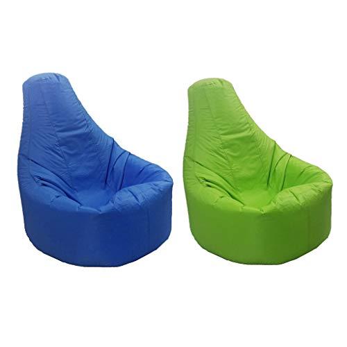 perfk 2 Stück Sitzsack Stuhl Sitzsack Stuhl Sitzsackbezug Ohne Füllstoff