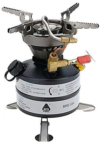 Camping Mini Portable Portable Camping Stove Outdoor Stove Gasoline Diesel kerosene BRS-12A integrated Multi-Fuel Camping Cooking stove