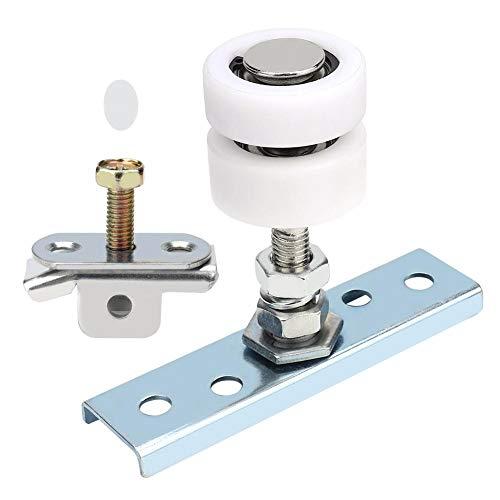 Taidda Polea para Puerta corrediza, Simple y Conveniente Resistente al Desgaste en el hogar Durable para Puertas corredizas Puertas Plegables Riel de Rueda Colgante