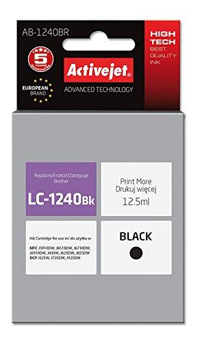 ActiveJet AB-1240BR Refill (geschikt voor Brother LC1240BK) zwart