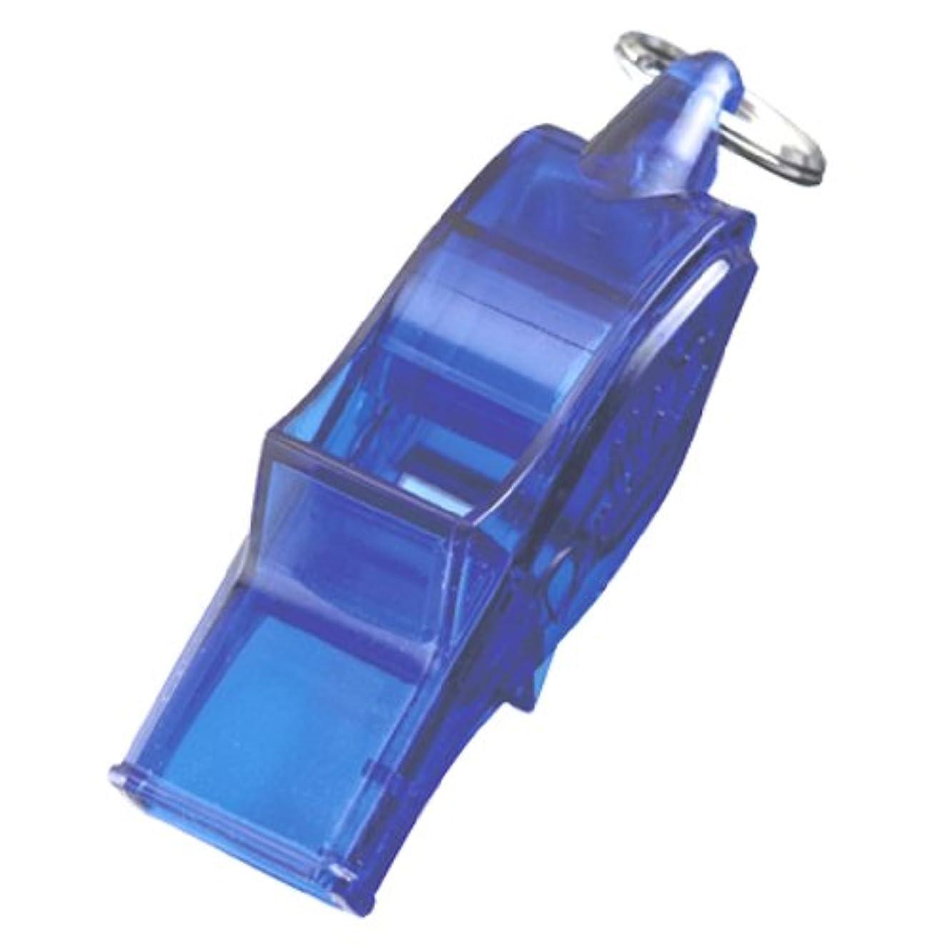 粘着性フラッシュのように素早く圧縮されたmolten(モルテン) レフェリーグッズ ホイッスル ドルフィンプロ クリアブルー WDFPSKB
