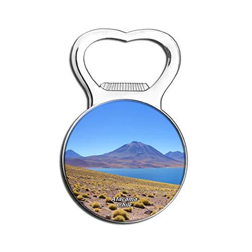Weekino Miniatures Et Miniatures San Pedro De Atacama Chili Aimant De Réfrigérateur Bière Ouvre-Bouteille Ville Voyage Souvenir Autocollant de réfrigérateur Fort