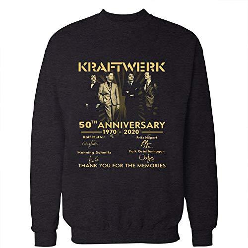 * NEW * Kraftwerk 50th Anniversary Sweatshirt - 1970-2020 - S, M, L