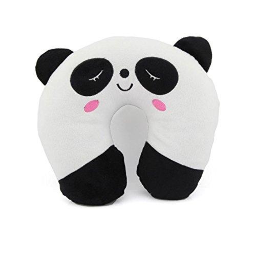 Soft Travel U-shape Neck Pillow Cute Panda by Owfeel(TM)