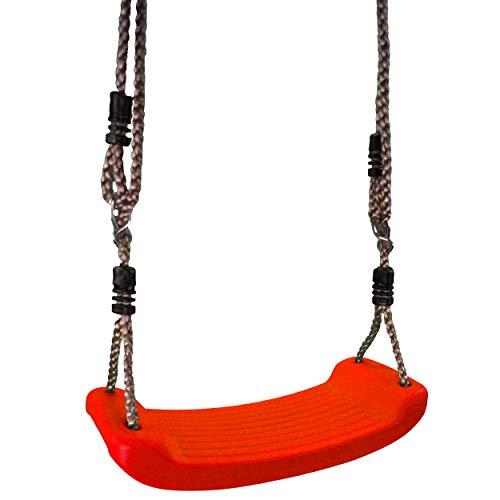 Best Sporting Kinderschaukel Brettschaukel aus Kunststoff 42x16 cm mit verstellbarem Seil