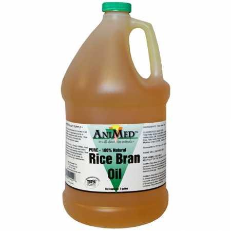 AniMed Rice Bran Oil 128 oz