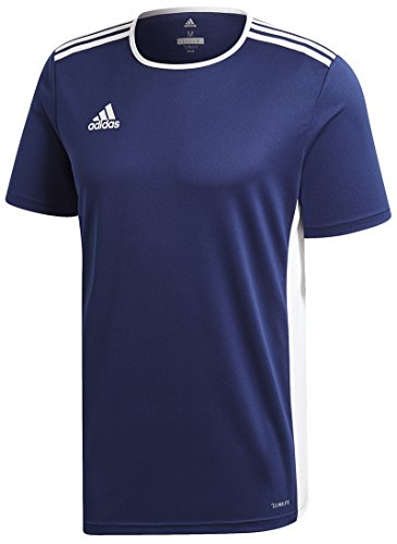 adidas Entrada 18 JSY T-Shirt, Hombre, Dark Blue/White, 2XL