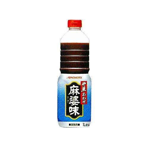 「味の素KK中華あわせ」麻婆味 1Lボトル×6