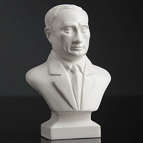 Russian Souvenirs Vladimir Putin 5.1 inch Bust Sculpture Statue