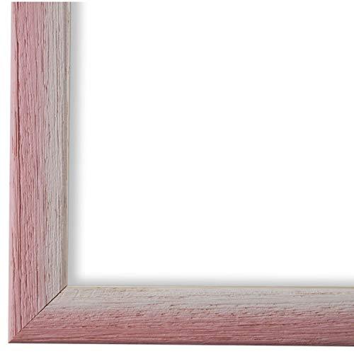 Online Galerie Bingold Bilderrahmen Rosa Pink Weiß 20 x 30 cm 20x30 - Modern, Shabby, Vintage - Alle Größen - handgefertigt - WRF - Pinerolo 2,3