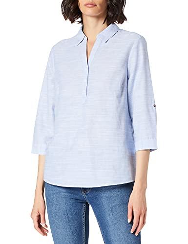 Cecil Damen 342553 Bluse, Blouse Blue, XL