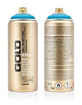 Montana Cans Montana GOLD 400 ml Color Light Blue Spray Paint