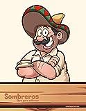 Sombreros libro para colorear: 1
