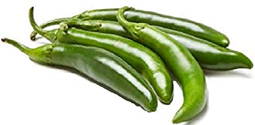 200 HOT Serrano Tampiqueno Pepper Mexican Chile Capsicum Annuum Vegetable Seeds