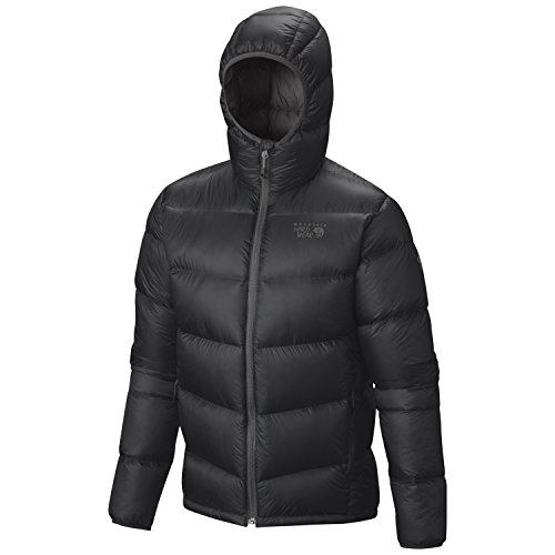 Mountain Hardwear Kelvinator Hooded Jacket - Men's Shark / Titanium Large