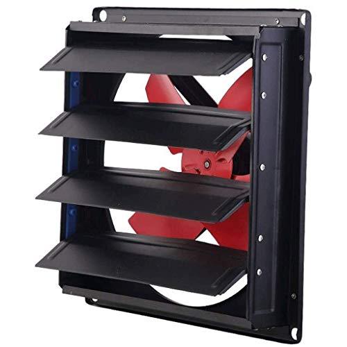LANDUA Placa metálica Extintor de Garaje Shed Polo Barn hidropónico de ventilación de Tipo Pared de baños de Cristal WC Ventilador Calificación (Size : 12 Inch)