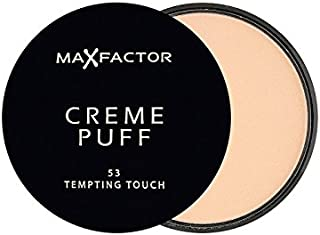 Max Factor Creme Puff Powder Compact Tempting Touch 53 - マックスファクタークリームパフパウダーコンパクト魅力的なタッチ53 [並行輸入品]