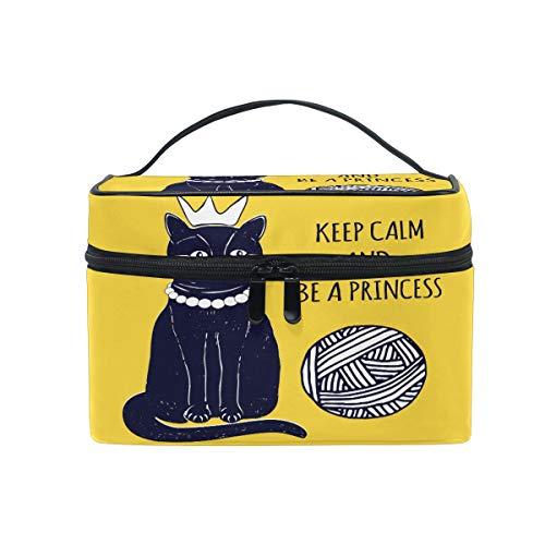 iRoad Trousse de maquillage Motif chat princesse
