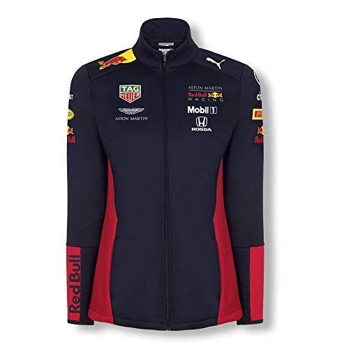 Red Bull Racing Official Teamline Chaqueta Softshell, Mujeres Small -