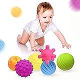 Weiche Baby Bälle,Baby Strukturierter Multi-Ball,Textured Multi Ball,Tactile Sensory Balls,Sensory...