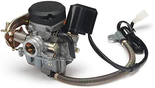 JFG RACING Carburador Keihin CVK PD18J para 4 tiempos GY6 50CC 139QMB 139QMA Jonway Baja Jmstar Lance NST Peace Banzer Barton Zipp Romet de 18 mm