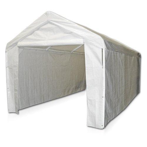 Caravan Canopy 12000211010 Seitenwandbausatz für Carport - Weiß