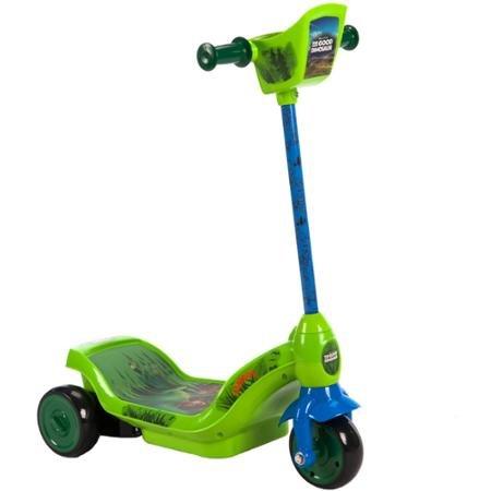 Fun Huffy Disney The Good Dinosaur 6V Dual Power 3-Wheel Scooter