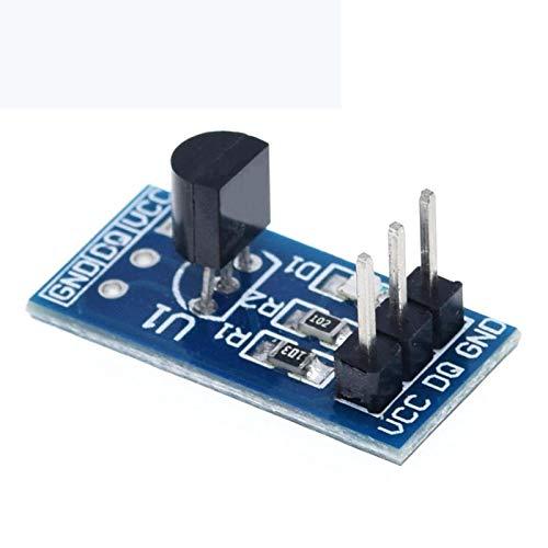 QBLDX DS18B20 Temperaturmesssensormodul Hochpräziser Sensor Kompatibel Für Arduino