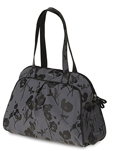 Basil Damen Fahrrad-schultertasche Elegance-Carry All Fahrradtasche, Moonstone Gray, 42 x 16 x 33 cm