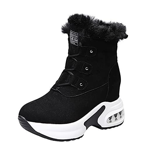Botas De Nieve Mujer botas invierno mujer forradas botas agua tacon botas con pelo bota mujer marron botines tacon ancho botines con pelobotas cowboy mujer
