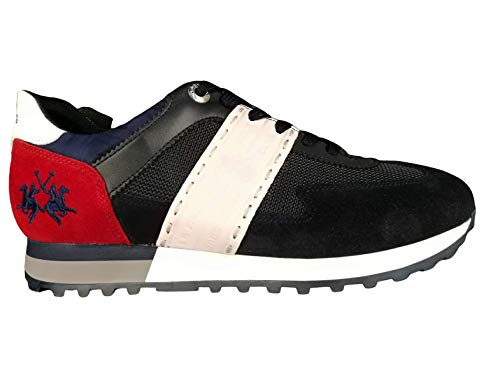 La Martina - Sneaker Uomo Blu - Made in Italy (45)