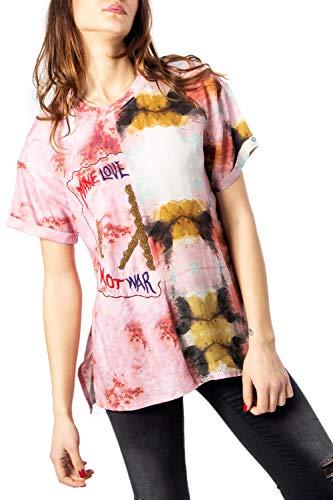 Bluse Damen DESIGUAL blus padua 20swbw47 s pink