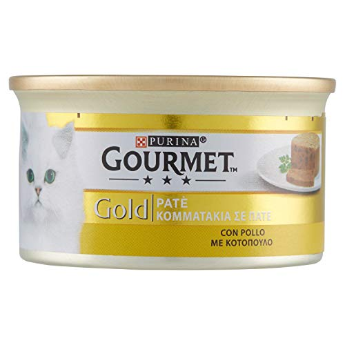 Gourmet Gold Pate Poulet 85 g