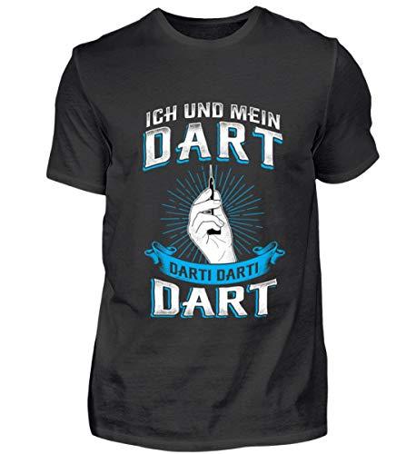 Ich und Mein Dart Darti Darti Dart - Dart/Dartspieler/Dartclub Geschenk - Herren Shirt