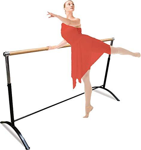 Barra de ballet portátil para casa o estudio, calidad premium, ajustable, para adultos y niños,...