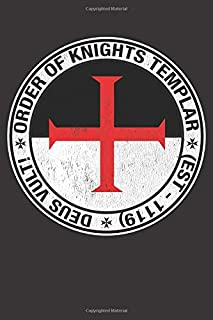 Order of Knights Templar: Blank Lined Notebook, Journal or Diary